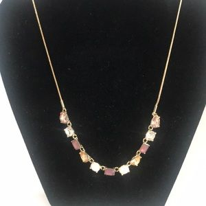 Nine West Gold Tone Sparkle Necklace